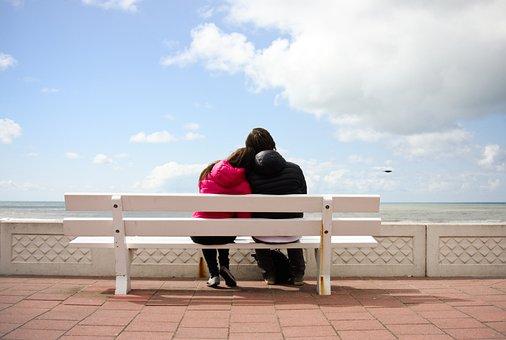 Tenderness, Date, Romance, Love, Flirtation, Man, Woman