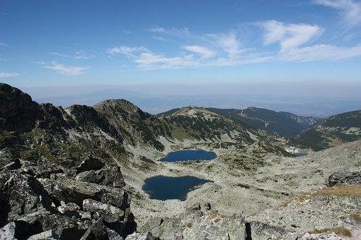 Musala, Rila, Lakes, Peak, Bulgaria, Balkans, View