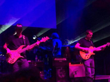 Guitar, Bass, Music, Rock, Entertainment, Concert