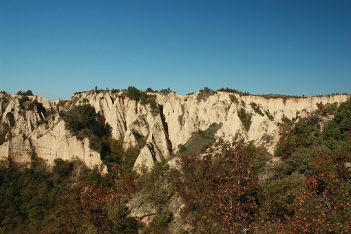 Melnik, Pyramids, Rocks, Sand, Pirin, Bulgaria