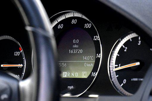 Car, Speedometer, Auto, Vehicle, Speed, Transportation
