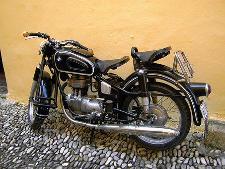 Motorcycle, Oldtimer, Old Motorcycle, Vehicle