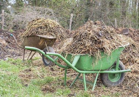 Manure, Wheelbarrow, Wheelbarrows, Waste, Agriculture
