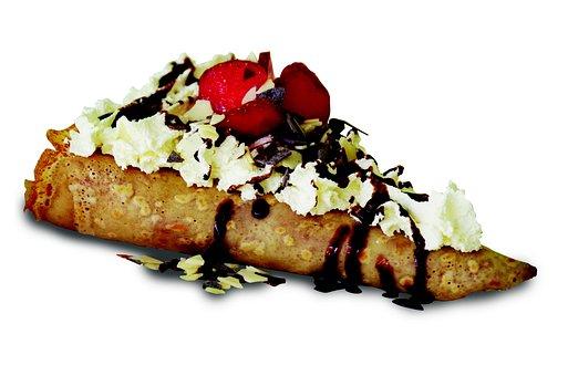 Pancake, The Sweetness Of, Gofra, Whipped Cream