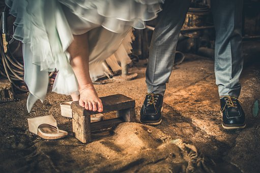 Adult, Classic, Couple, Dirty, Dress, Foot, Footwear