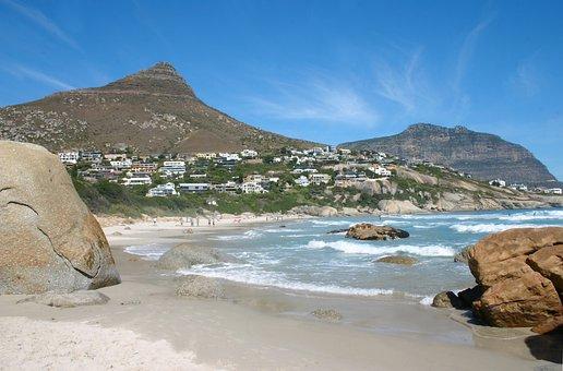 Llandudno, Beach, Cape Town, South Africa, Africa, Sea