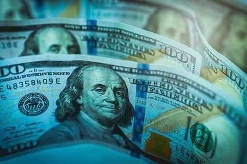 Money, Dollar, American, Cash, Banknotes, Monetization