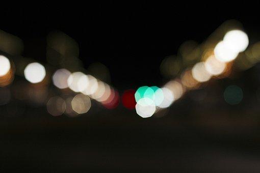 Background, Bokeh, City Lights, Defocused, Focus