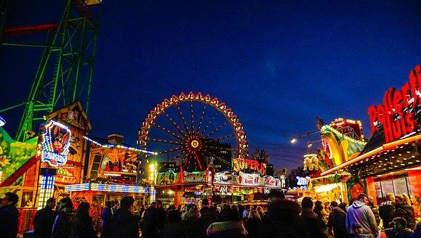 Fun Fair, Amusement Park, Hamburger Dom
