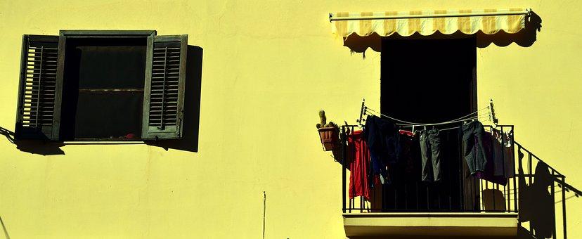 Window, Balcony, Mediterranean, Facade, Home, Building