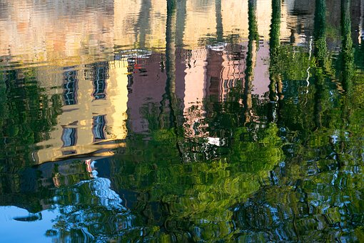 Mirroring, Water, Water Reflection, Colorful, Lake