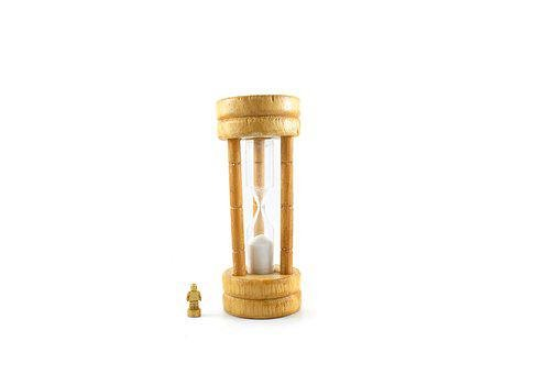 Sand, Clock, Marionette, Small, Time, Measurement