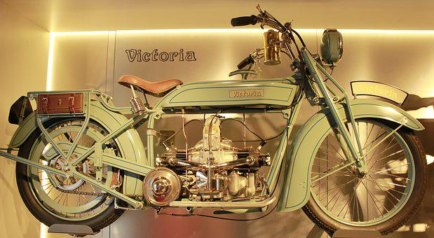 Victoria, Two Wheeled Vehicle, Oldtimer, Motorcycle