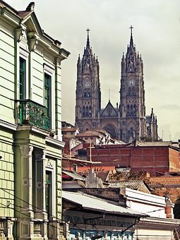 Quito, Ecuador, The Cathedral, South America