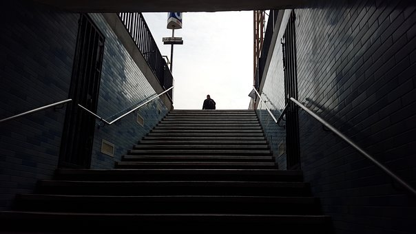 Steps, Stairway To Heaven, Berlin, Stairs, Ascend