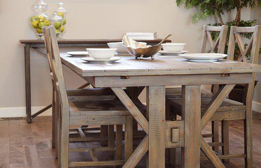 Dining Table, Chair, Wood, Dining Room, Table, Dining