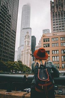 Adult, Architecture, Building, Business, City