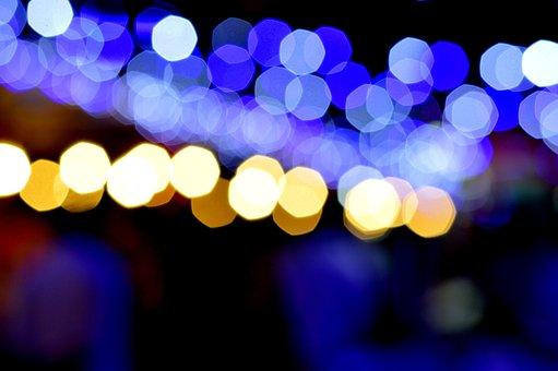 Blurred, Bokeh, Bright, City Lights, Illuminated