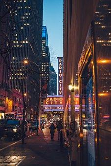 Architecture, Bridge, Broadway, Building, Business