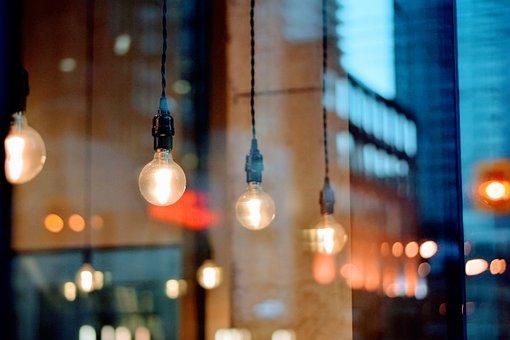 Architecture, Blur, Bokeh, Bulb, City, Dark, Evening