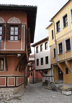 Old, Town, Plovdiv, Bulgaria, Europe, Landmark, House