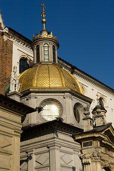 Chapel, Golden Roof, Religion, Christian, Catholic