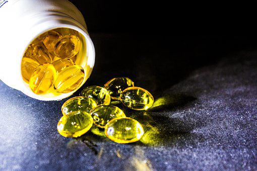 Cure, Drug, Tablets, Cod-liver Oil, Omega-3, Omega-6