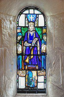 Scone Palace, Scotland, Stained, Glass, Church, Window