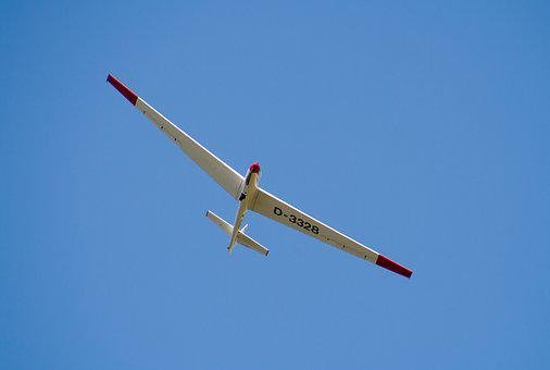 Glider Pilot, Aircraft, Airport, Glider, Air Sports