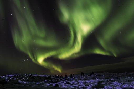 Iceland, Northern Lights, Aurora, Borealis, Phenomenon