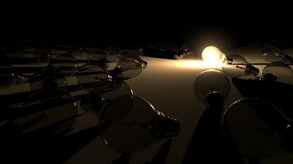 Light, Light Bulb, Glow, Lighting, Lamp