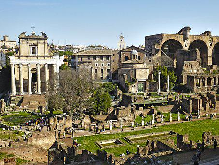 Old, Rome, Architecture, Culture, Tourism, Italy