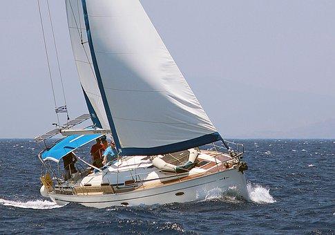 Sail, Sea, Sailing Vessel, Holiday, Sailing Trip