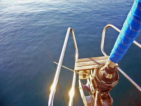 Anchor, Sailing Vessel, Boot, Water, Holiday, Rest