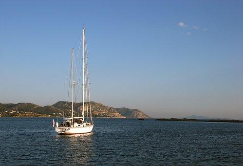 Summer, Holiday, Sea, Booked, Beach, Sky, Mediterranean