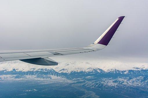 Plane, Window, Windowseat, Window Seat, View
