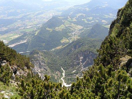 Mountains, Salzburg, Austria, Europe, Landscape, Alps