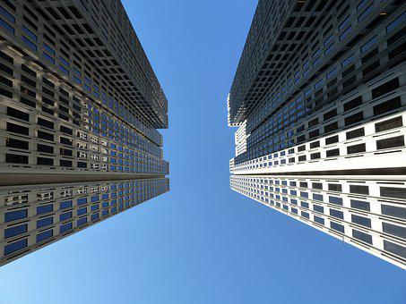 Skyscraper, Sky, Building, Urban, Architecture, Modern