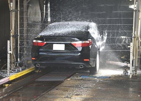 Car Wash, Clean, Wash, Automobile, Business, Car