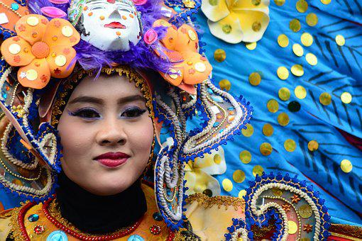 Woman, Fashion, Carnival, Festival, Event, Female