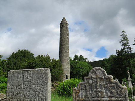Ireland, Ancient, Architecture, Christian, Glendalough