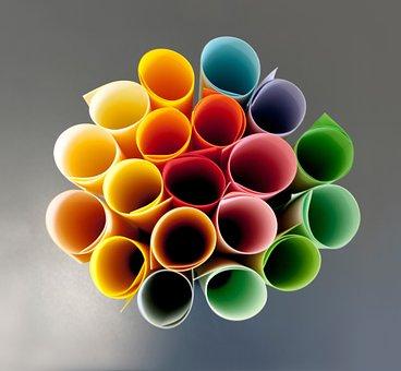 Paper, Colorful, Role, Color, Copy Paper, Rainbow