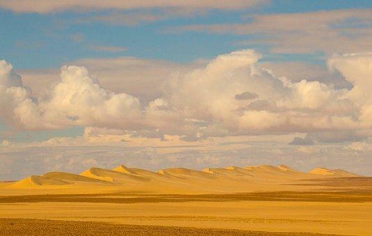 Desert, Dunes, Sand, Landscape, Nature, Dry, Travel