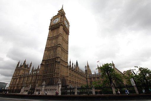 Big Ben, London, Watch, Architecture, Downtown, England