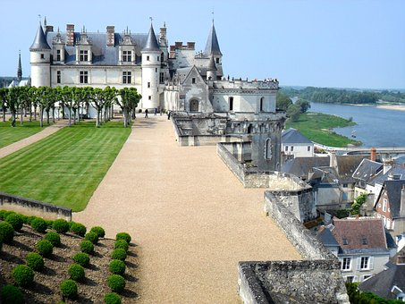 Chateau, Loire Valley, France, Europe, Architecture
