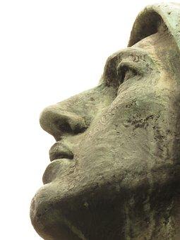 Medellin Sculpture, Face, Museum, Culture