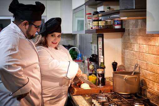 Cooking, Cooks, Gastronomy, Cook, Restaurant, Food