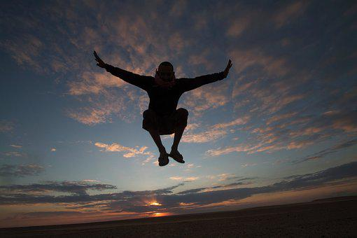 Freedom, Jumping, Playing, Jump, Happy, Fun, Happiness