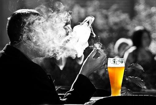 Man, Smoke, Beer, Wheat, Smoking, Benefit From