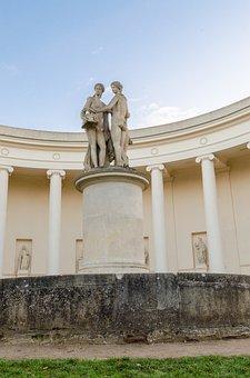 Valtice, Lednice, Grace, Three, Statue, Czech, Republic